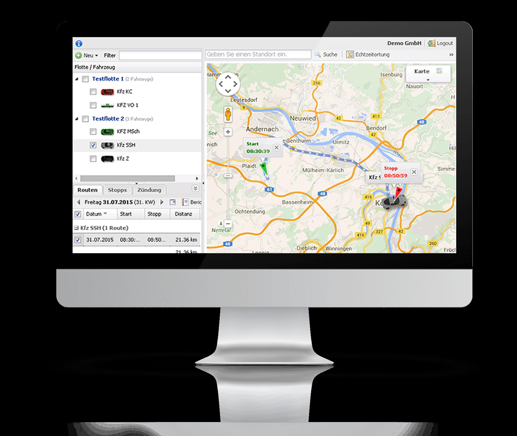 GPS KFZ Überwachung mit GPS Ortung und GPS Ortungssystemen